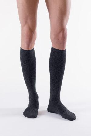 czarne pończochy męskie city confort coton