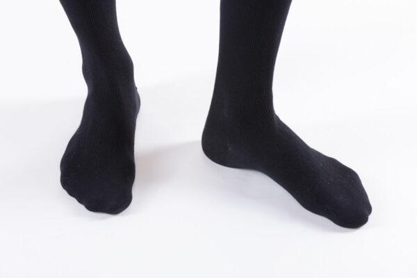 podkolanówki city confort coton czarny