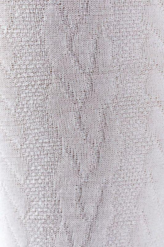 materiał fast laine warkocz biały